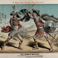 William_Gladstone_fighting_a_duel_dressed_as_Macbeth_Wellcome_V0050373.jpg